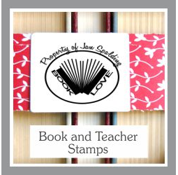 Book and Teacher Stamps