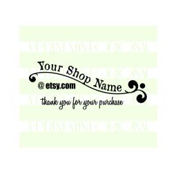 Modern Business Card Stamp
