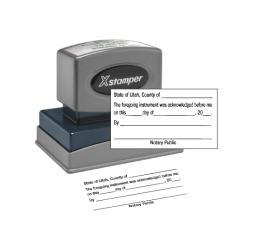 Acknowledgement Stamp