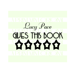 Book Belongs To Stamp -Five Star Rating Stamp