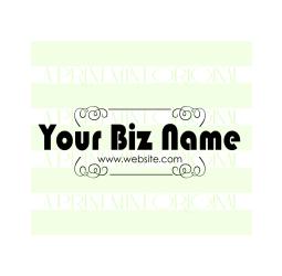 Custom Business Card Logo- Etsy Shop Stamp
