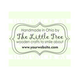 Custom Business Card or Handmade By Self-inking or Rubber Stamp