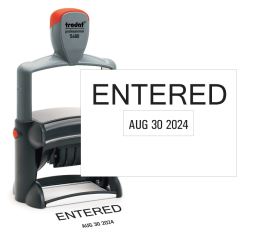 Entered Date Stamp