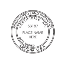Arizona Registered Land Surveyor Seal