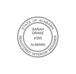 Alabama Professional  Interior Designer Seal