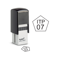 Pentagon Inspection Self-inking Stamps- Trodat