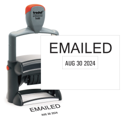 Emailed Date Stamp