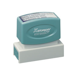 Rectangle X-Stamper Pre Inked Stamps