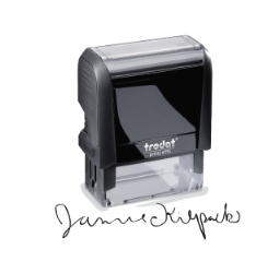 Trodat Signature Stamps