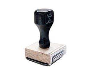 2 Inch Traditional Rubber Stamp by Various Sizes