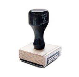 1 Inch Rubber Stamp by Various Sizes