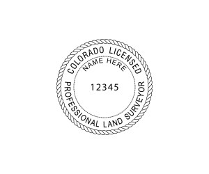 Colorado Professional Land Surveyor Seal
