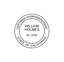 California Certified Hyrogeologist