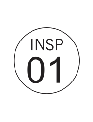 Circle Inspection Stamps