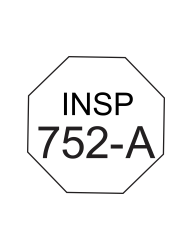 Octagon Inspection Stamps