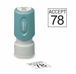 Square Inspection Stamps - X-Stampers