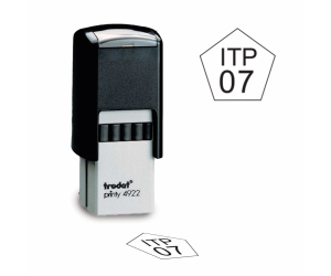 Pentagon Inspection Stamps - Trodat
