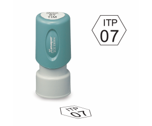 Hexagon Inspection Stamps - X-Stamper