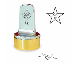 Star Inspection Stamps- Neoprene