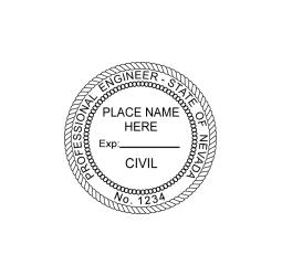 Nevada Professional Engineer (Civil) Seal