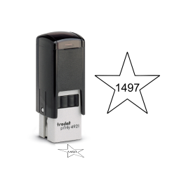 Star Self-inking Inspection Stamps - Trodat