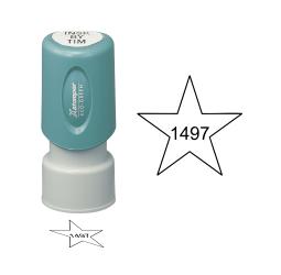 Star Inspection Stamps- X-Stamper
