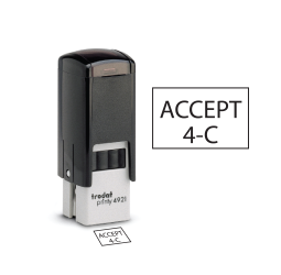 Rectangle Self-inking Inspection Stamps-Trodat