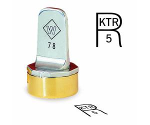 R Inspection Stamps- Neoprene