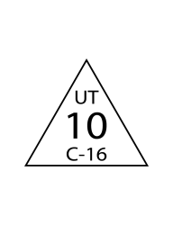 Triangle Inspection Stamps