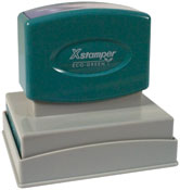 Indiana Land Surveyor Seal pre-inked X-Stamper conforms to state  laws. For Professional Architect and Engineer stamps.