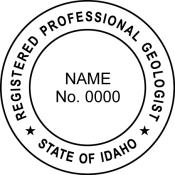 Idaho Geologist Seal