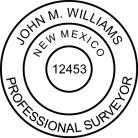 New Mexico Professional Surveyor Seal