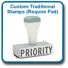 Custom Traditional Stamps