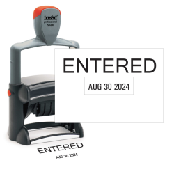 Entered Date Stamp