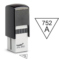 Inspection Stamps Triangle- Trodat