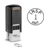 Circle Inspection Stamps- Trodat