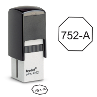 Octagon Inspection Self-inking Stamps- Trodat