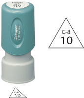 Triangle Inspection Stamps- X-Stamper