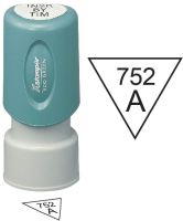 Inspection Stamps Triangle- X-Stamper