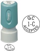 Accept Inspection Stamp- X-Stamper