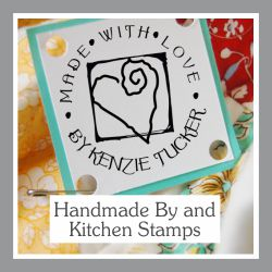 Handmade By and  Kitchen of Stamps