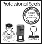 Utah Professional Stamps, Seals, and Embossers