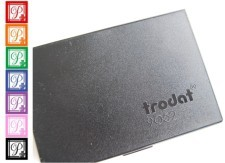 """Stamp Pad 3 1/2"""" x 6 """" #9053  Size 2 3/4""""  x 4 1/2"""". Trodat Stamp Pads are created perfectly for your needs  and are available in black, blue, red, green and violet."""