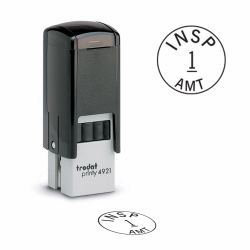 Design your own Trodat 4921 Custom Inspection stamps . Order an inspection stamp they are custom made in the USA and ship in 1-3 business days.