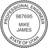 Utah PE Seal Engineer