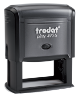 """Trodat Self-Inking Stamp 1-1/2"""" x 3"""" 4926 Trodat  Printy  Trodat Self-inking. They are climate neutral, intuitive and clean replacement of ink pads, incredibly small & light."""