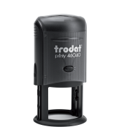 """Trodat Self-Inking  Circle Stamp 1-5/8"""" 46040 Trodat   Trodat Self-inking. They are climate neutral, intuitive and clean replacement of ink pads, incredibly small & light."""