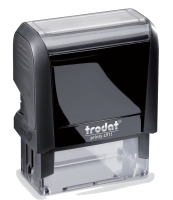 Trodat Self-Inking Stamp 9/16 in. x 1-1/2 in, 4911  Trodat Self-inking. They are climate neutral, intuitive and clean replacement of ink pads, incredibly small & light.