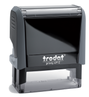 Trodat Self-Inking Stamp 3/4 in. x 1-7/8 in, 4912  Trodat Self-inking. They are climate neutral, intuitive and clean replacement of ink pads, incredibly small & light.