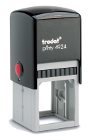 """Trodat Self-Inking Stamp 1-5/8"""" x 1-5/8 """" 4924 Trodat   Trodat Self-inking. They are climate neutral, intuitive and clean replacement of ink pads, incredibly small & light."""